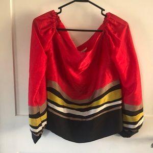 Rachel Roy off the shoulder blouse
